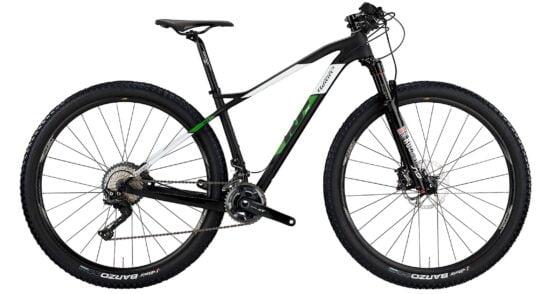 Wilier 101X - X12 BLACK - GREEN MATT