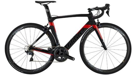 Wilier Cento 1 AIR - A13 BLACK - RED MATT